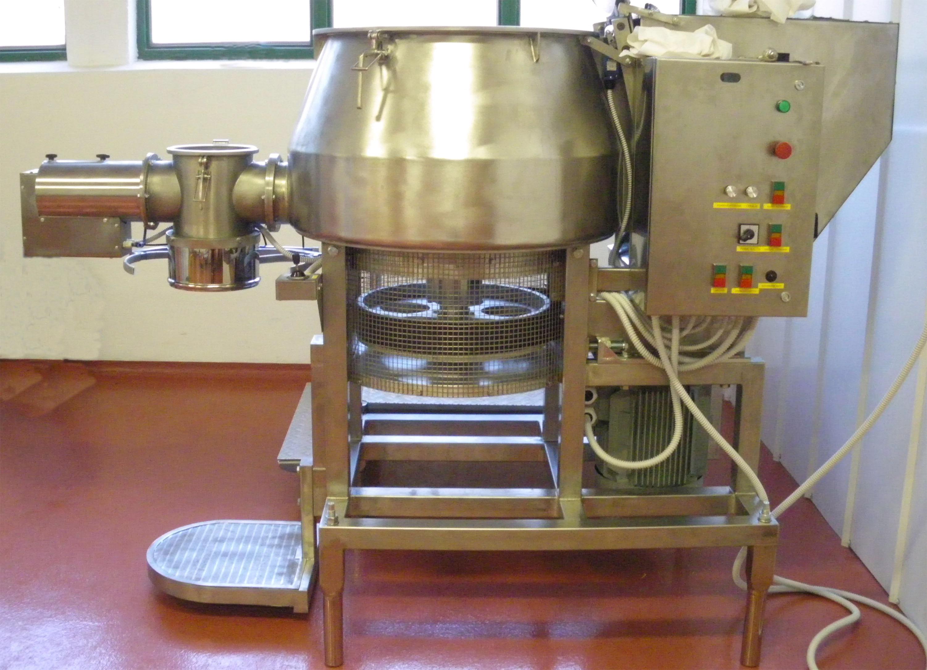 VKMI - Turbó keverőgép  250 literes